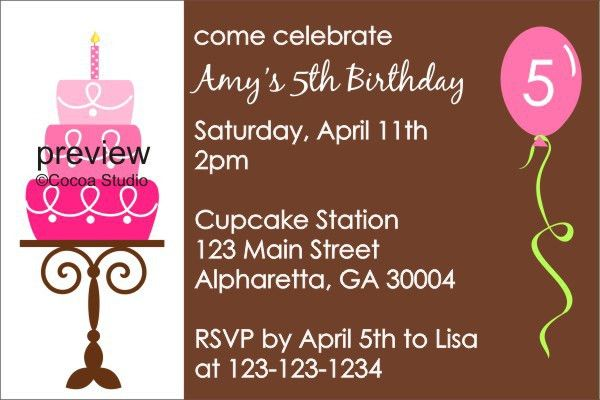 Birthday Invites: Free Birthday Party Invitation Templates for ...