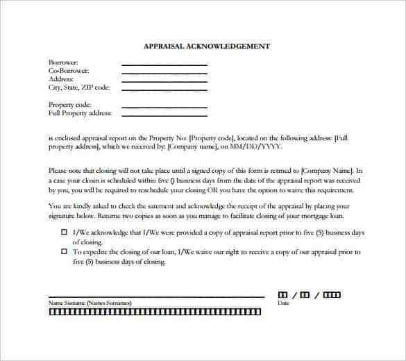33+ Acknowledgement Letter Templates – Free Samples, Examples ...