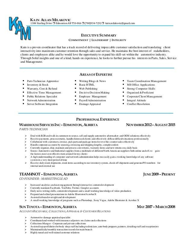 Cover & Resume - Collections Agent