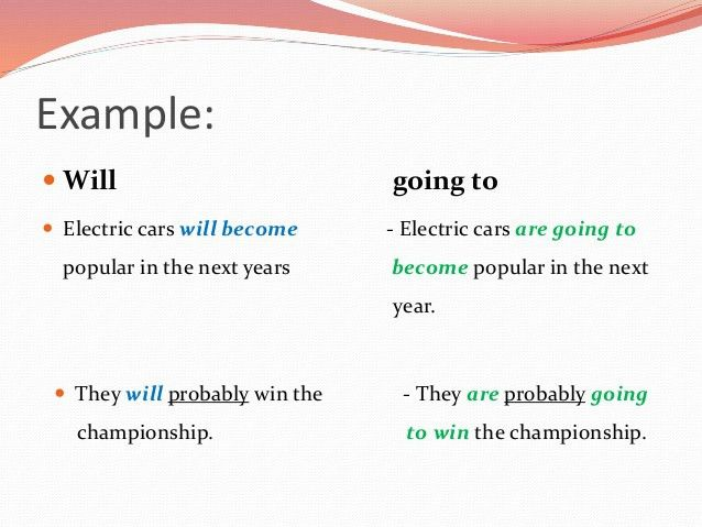 The Simple Future: will