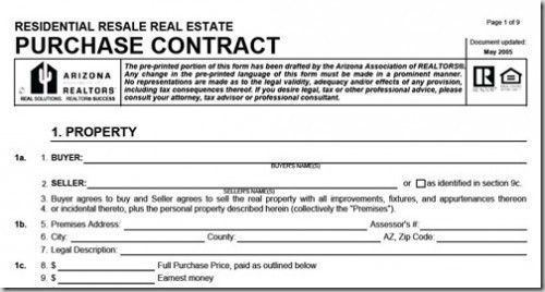 Difference Between Agreement To Sell And Contract For Sale ...