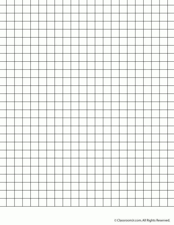 1 cm Grid Paper - Woo! Jr. Kids Activities
