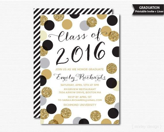 Free Printable Graduation Party Invitations | christmanista.com
