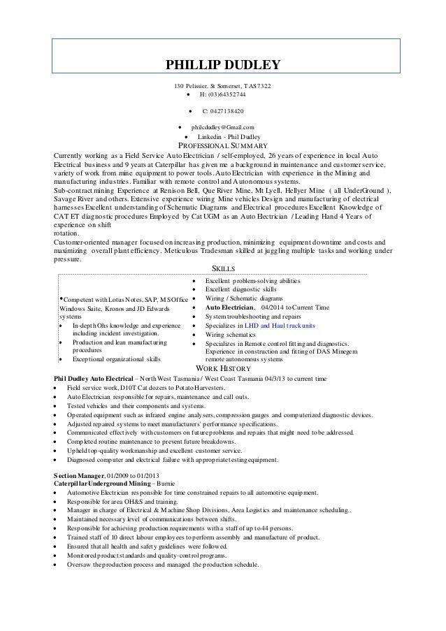 9601351 electrical resumes electrical cv sample engineering ...
