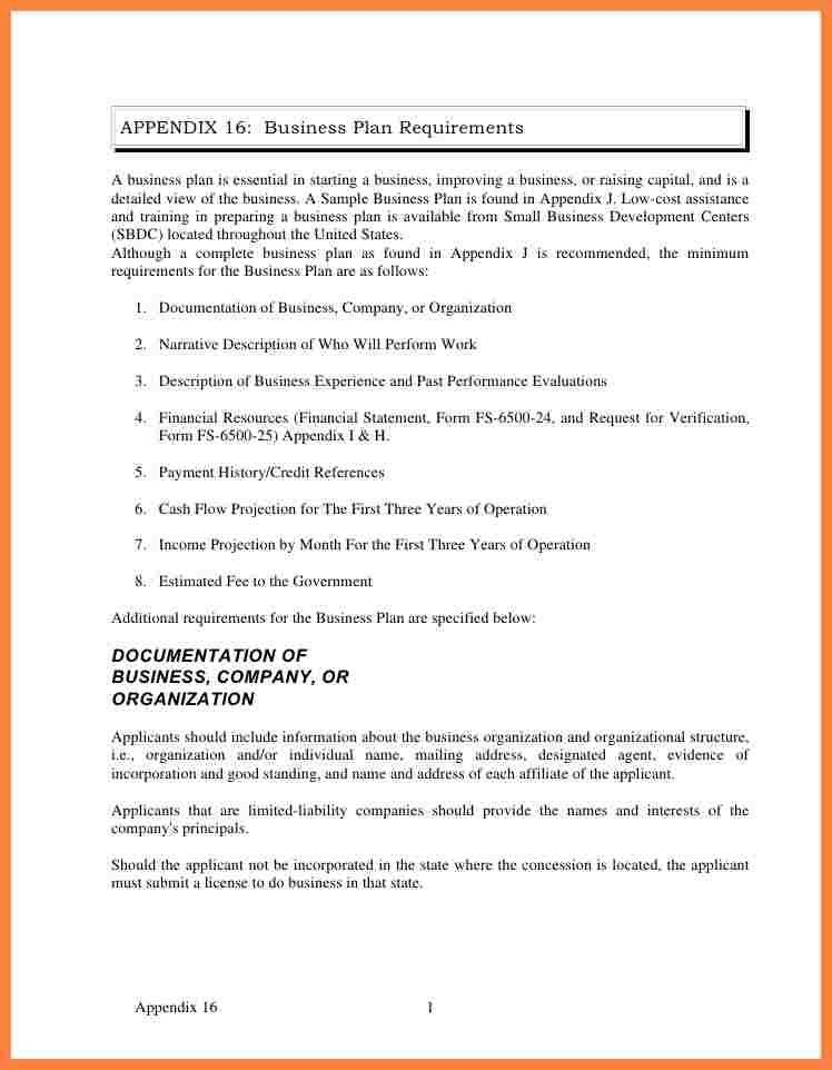 9+ an example of business plan | Bussines Proposal 2017