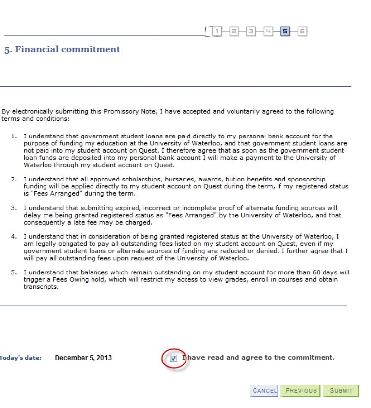 Student Financial Services | Promissory Note Step-By-Step ...