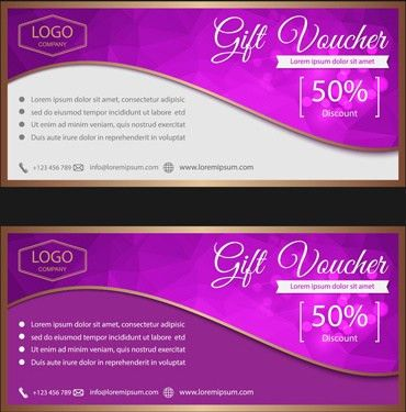 Ornate gift voucher vintage template vector Free vector in ...
