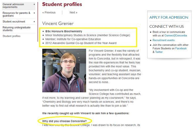 Student testimonials are an untapped source of competitive ...