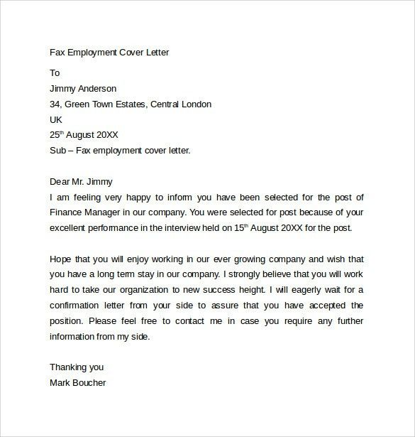 sample fax cover sheet for resume free pdf. fax cover letter ...