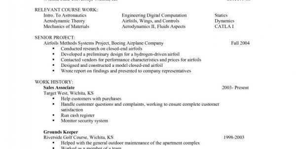 Cover Letter For Aerospace Job Aerospace Engineering Resume Sample ...