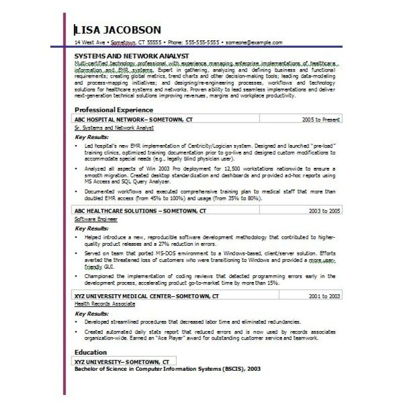Resume Templates In Microsoft Word. Microsoft Word Resume Template ...