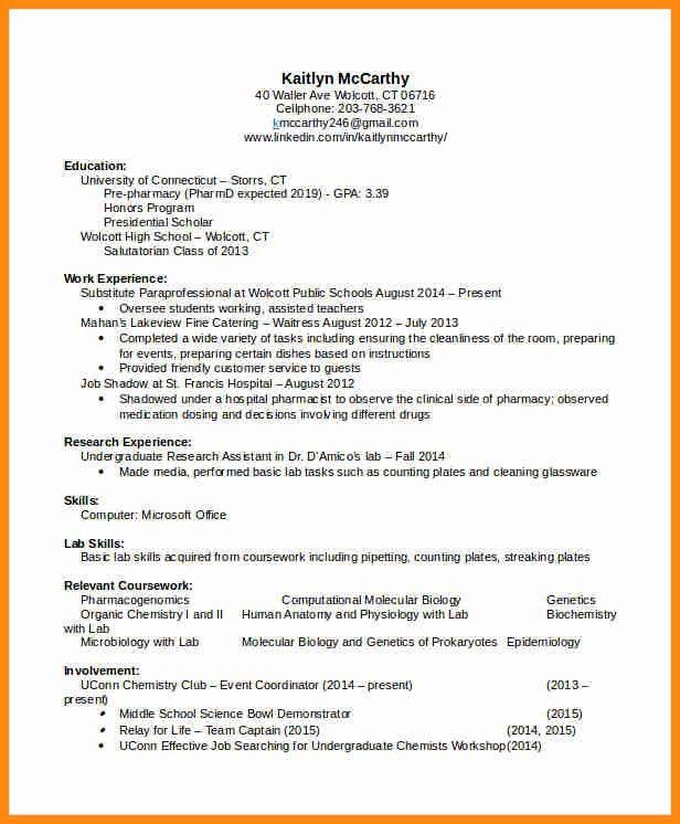 5+ pharmacist cv pdf | model resumed