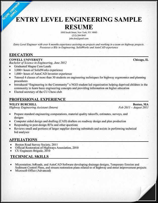 Autocad Engineer Sample Resume Autocad Engineer Sample Resume - drafter sample resumes