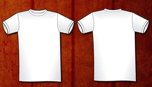 Free Download » http://www.t-shirt-template.com/men-basic-vector-t ...