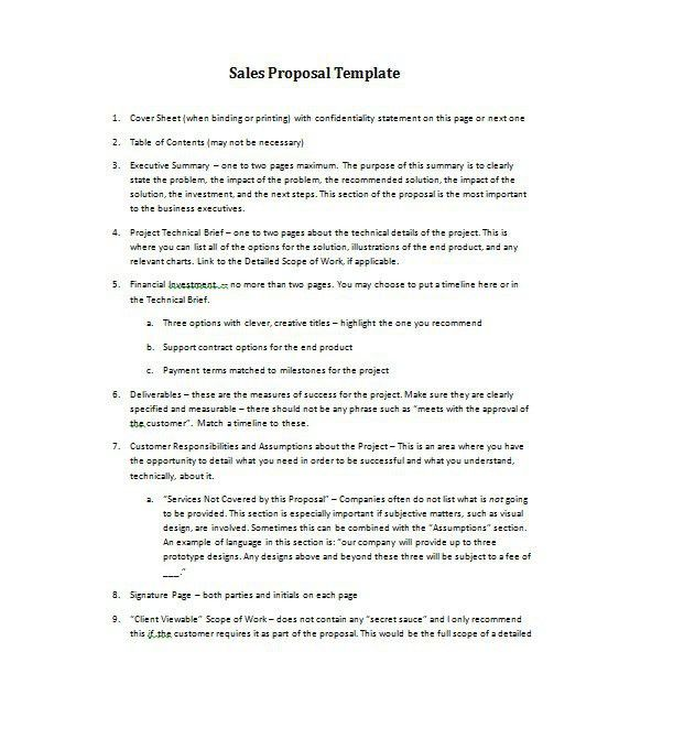 36 Free Business Proposal Templates & Proposal Letter Samples ...