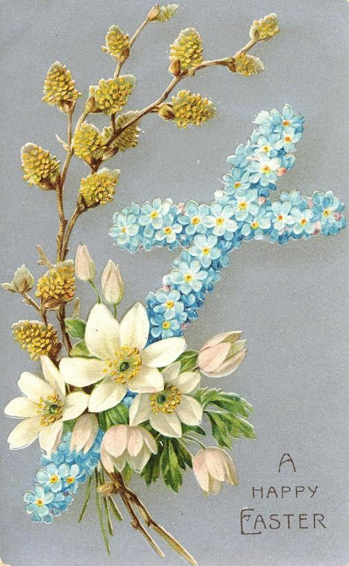 Free Vintage Religious Easter Cards | Easter, Cards and Vintage