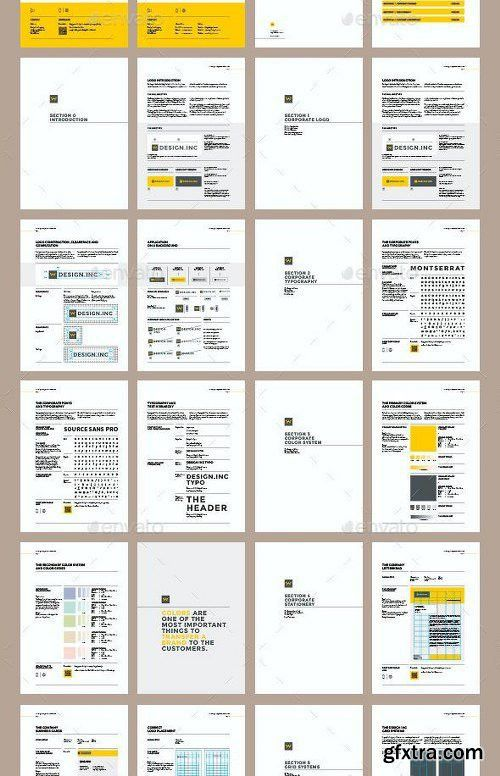 Graphicriver Brand Manual Template 11323698 | Brand Guidelines ...