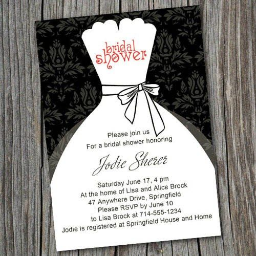 The Most Popular Bridal Shower Invitations at ...
