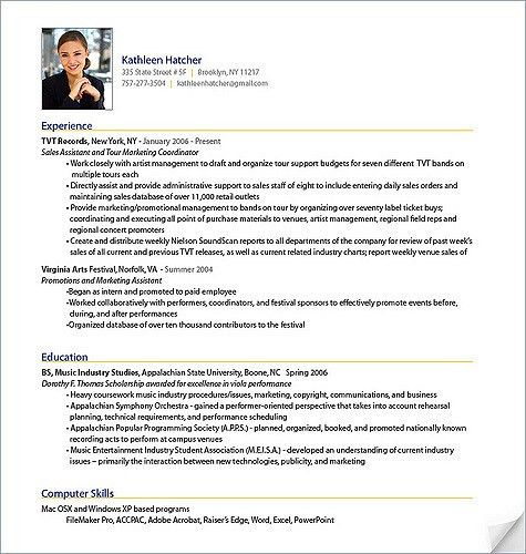 Sample Professional Resume | haadyaooverbayresort.com