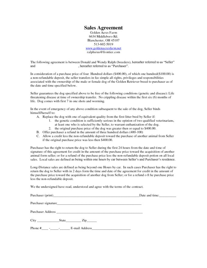 Sample Vehicle Sale Agreement 6 Free Sales Agreement Templates