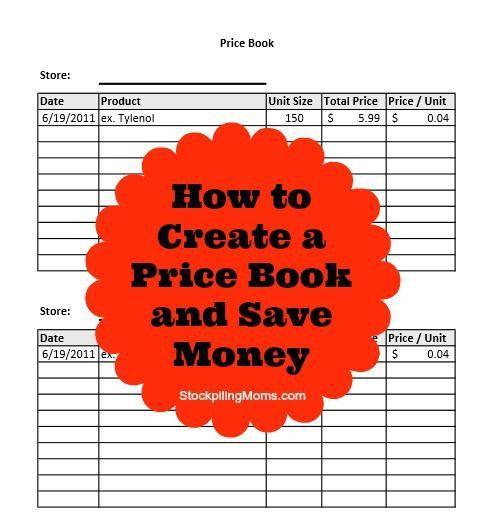 58 best Price book ideas images on Pinterest | Money savers, Money ...