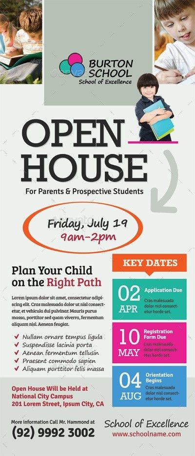 Free Open House Flyers 60 [Template.billybullock.us ]