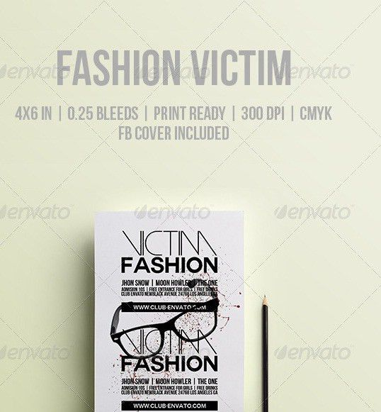 20 Fashion Flyer Templates
