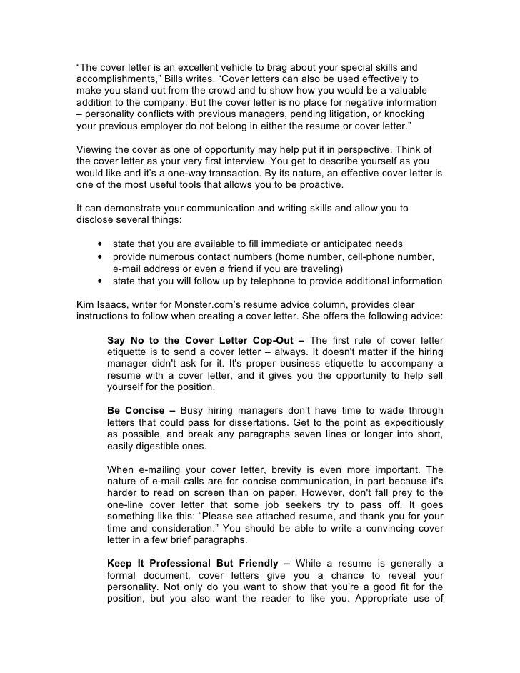 Excellent Idea Cover Letter Advice 8 Resume Within Tips - CV ...