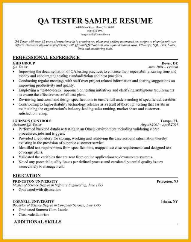 qa automation engineer cover letter. etl tester resume resume ...