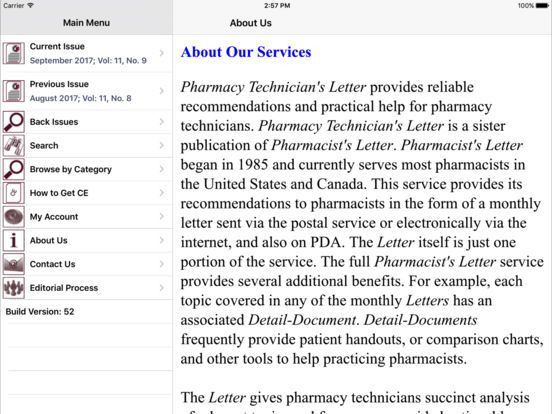Pharmacy Technician's Letter® on the App Store