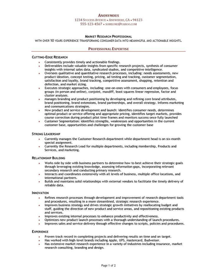 The 25+ best Functional resume template ideas on Pinterest ...