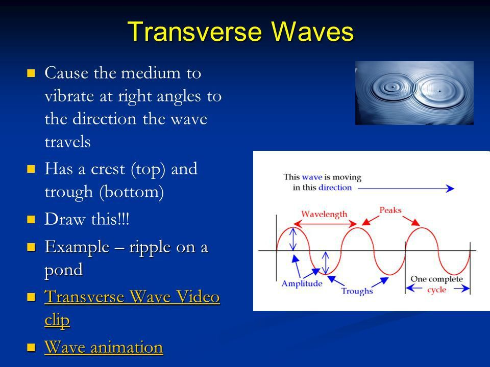 Chapter 17 NOTES Mechanical Waves and SOUND (Characteristics of ...