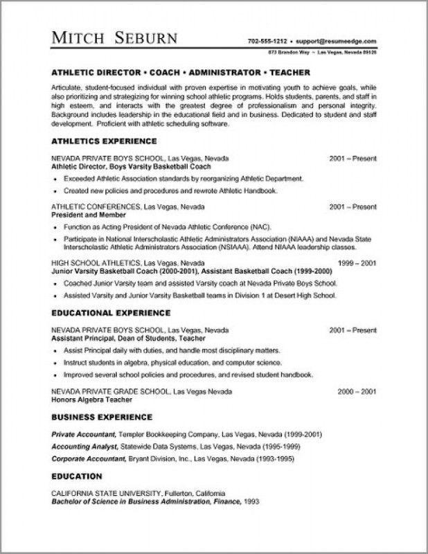 Resume Format Microsoft Word – Resume Examples