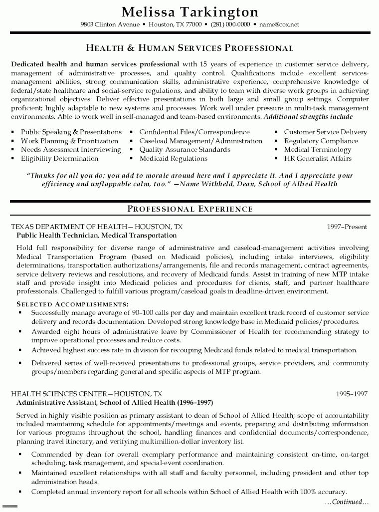 Public Health Resume Samples | Free Resumes Tips