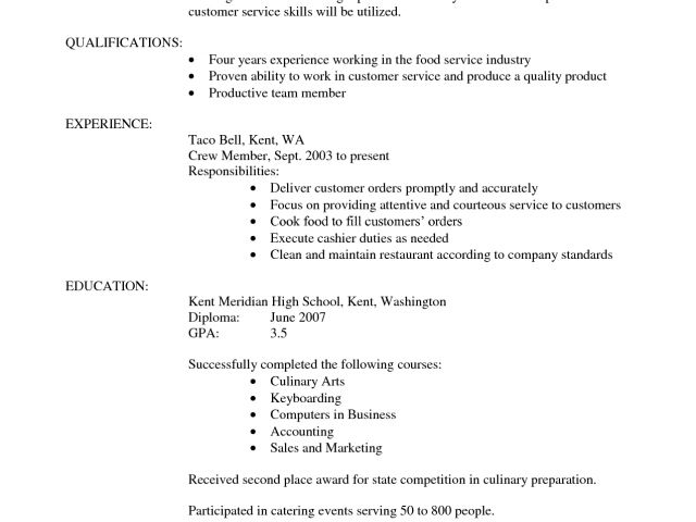culinary resume samples updated. prep cook resume restaurant ...