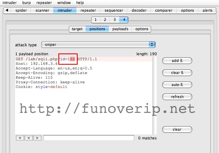 Blind SQL Injection detection with Burp Suite | Fun Over IP