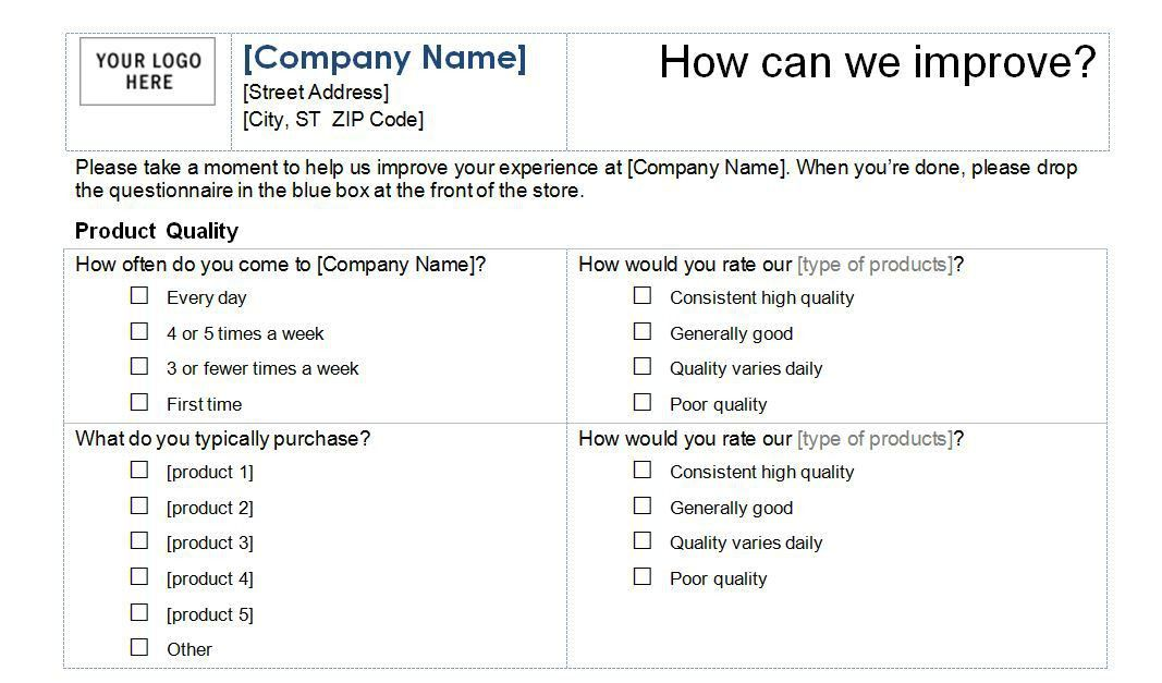 Feedback Survey Templates. Customer Satisfaction Survey Receipt ...