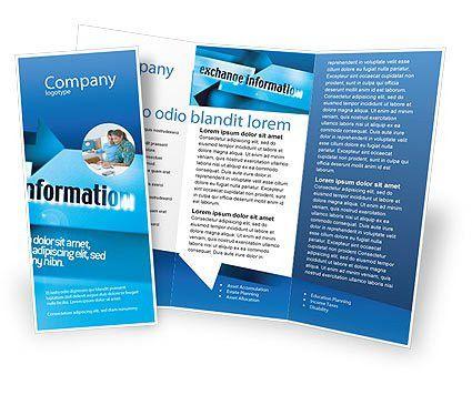 free brochure templates | Information Exchange Brochure Template ...