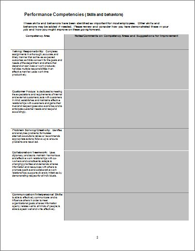 Job Accident, Interview Evaluation & Performance Forms | Document ...
