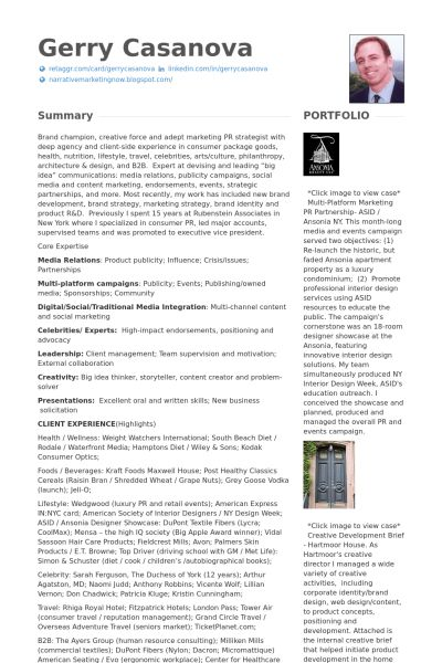 Executive Vice President Resume samples - VisualCV resume samples ...