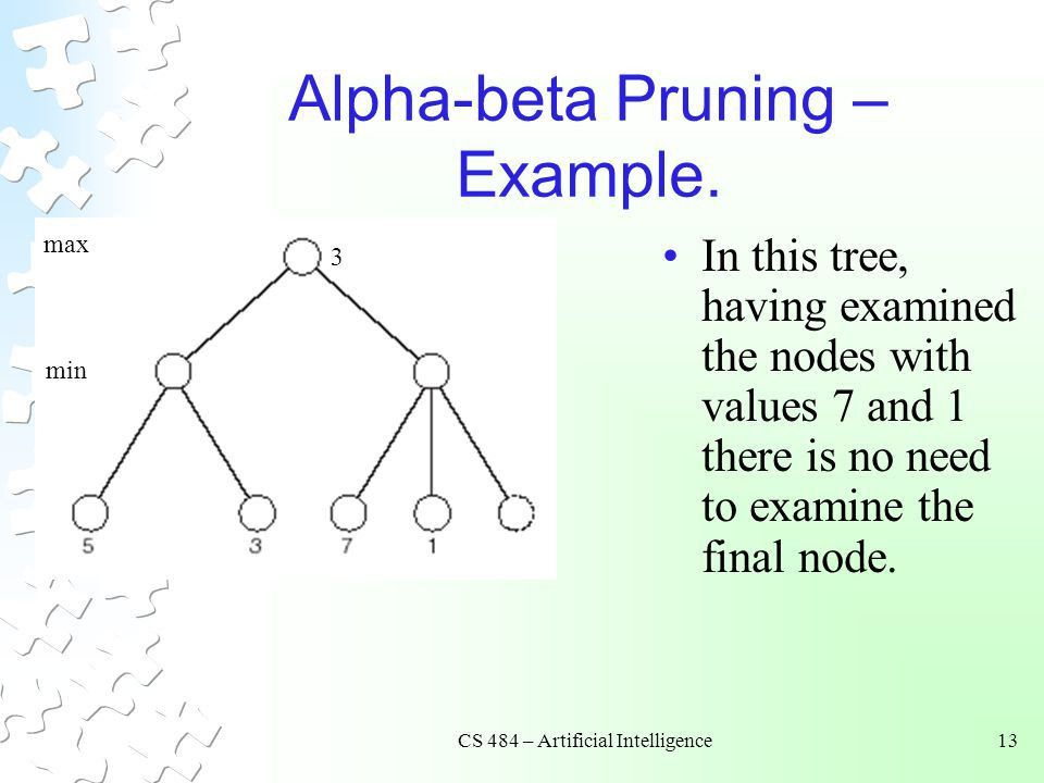 CS 484 – Artificial Intelligence - ppt download
