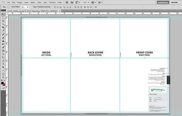How To: Set Up a Tri-Fold Brochure - Printaholic.com