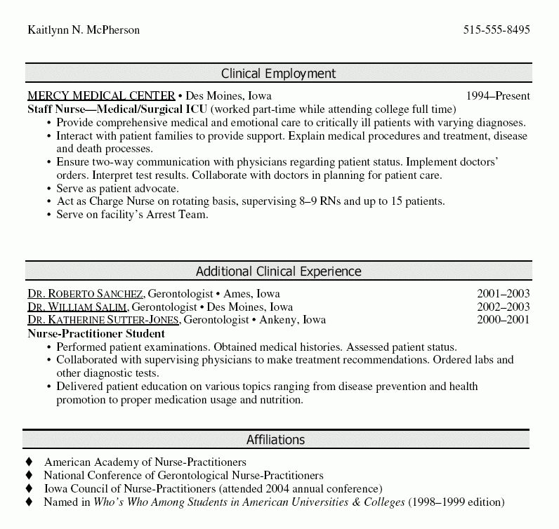 cna resume templates cna sample resume for experienced sample cna ...