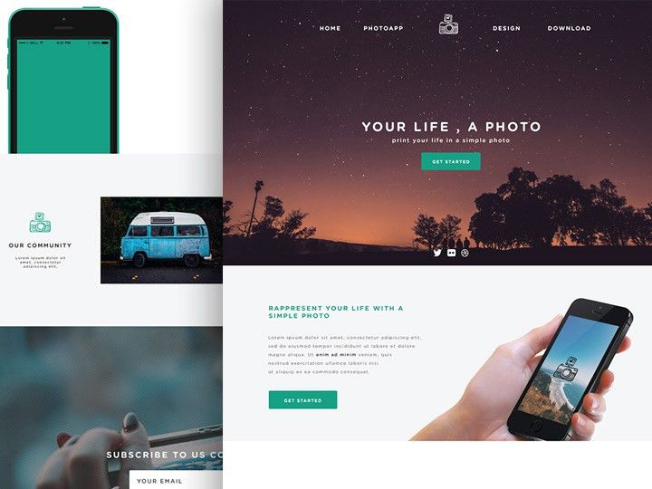 23+ PSD Website Templates - Free Templates Download