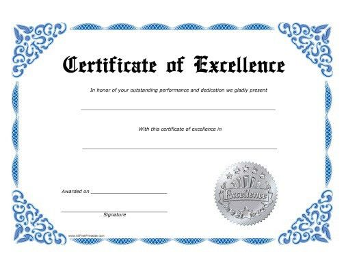Photos Certificate Templates Free Printable Certificates And Award ...