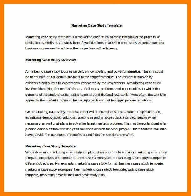 6+ case study template word | hostess resume