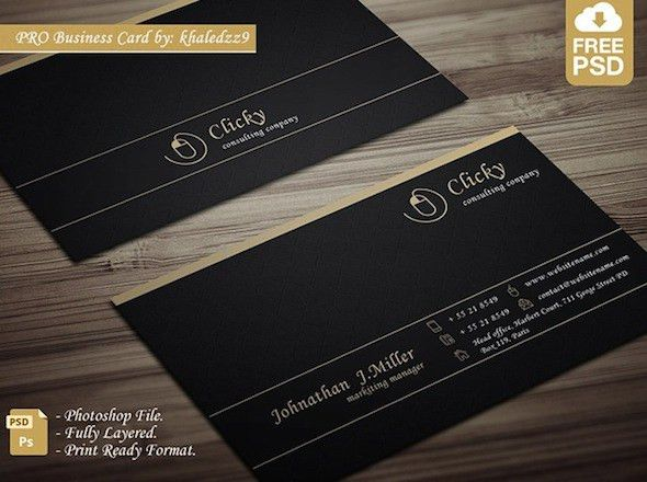 20 Latest Free Business Card PSD Templates – Neo Design