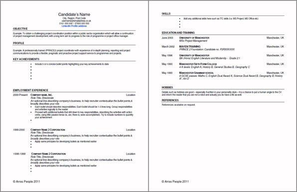 Resume Examples Templates: Great 10 Resume Template PDF Ideas ...