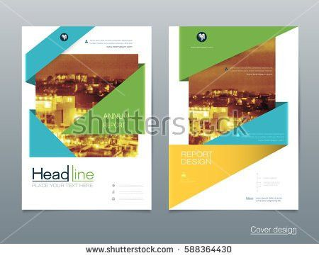 Magazine Design Corporate Business Template Brochure Stock Vector ...