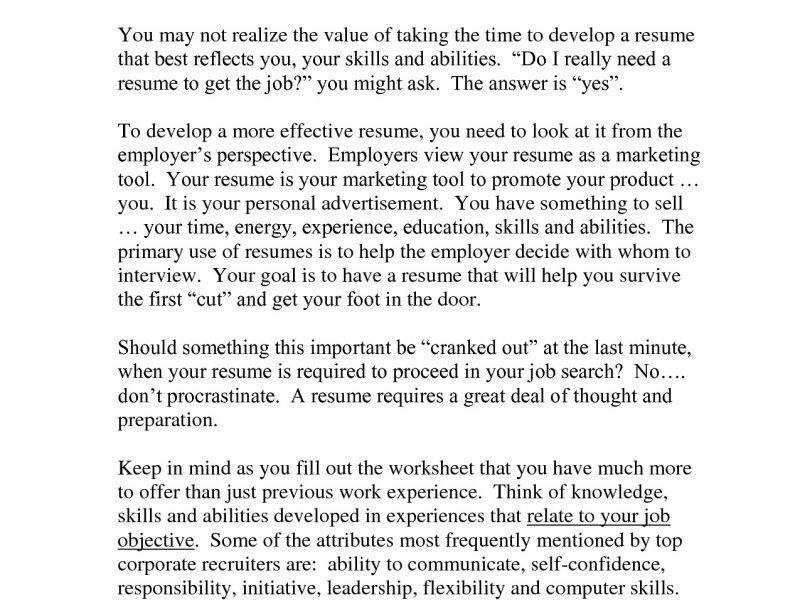 Computer Skills Resume Example - CV Resume Ideas